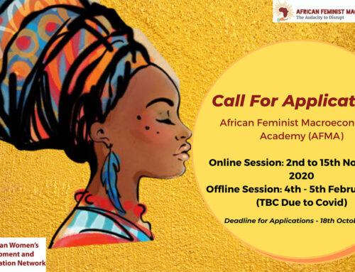 Call for Applications AFMA 2020