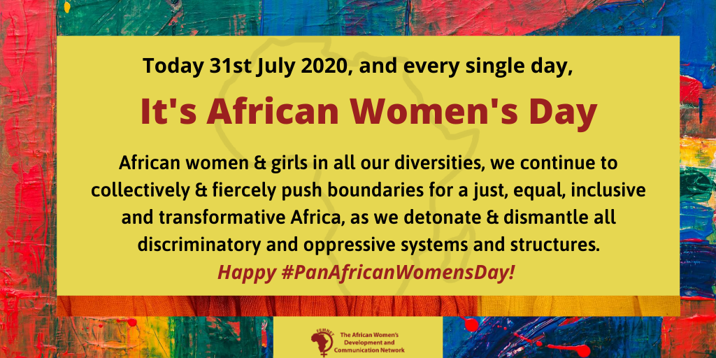 Happy #PanAfricanWomensDay!