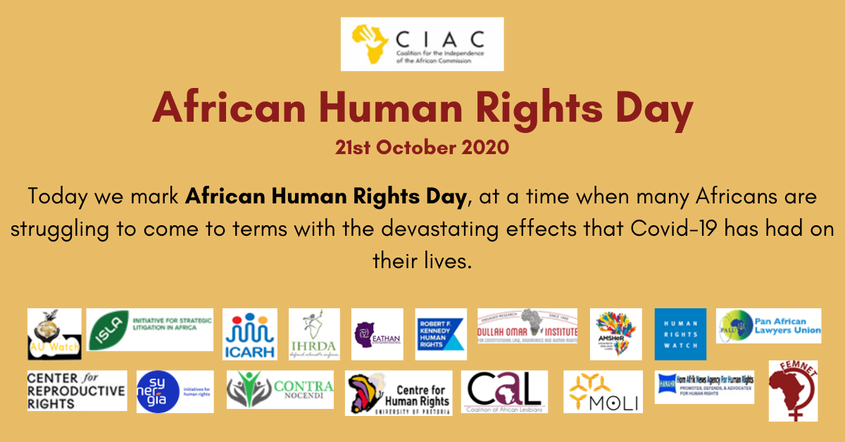 African Human Rights Day Statement