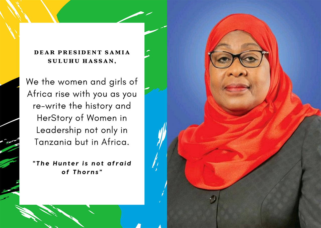 120+ Organizations Sign On A Letter Congratulating Her Excellency, President Samia Suluhu Hassan