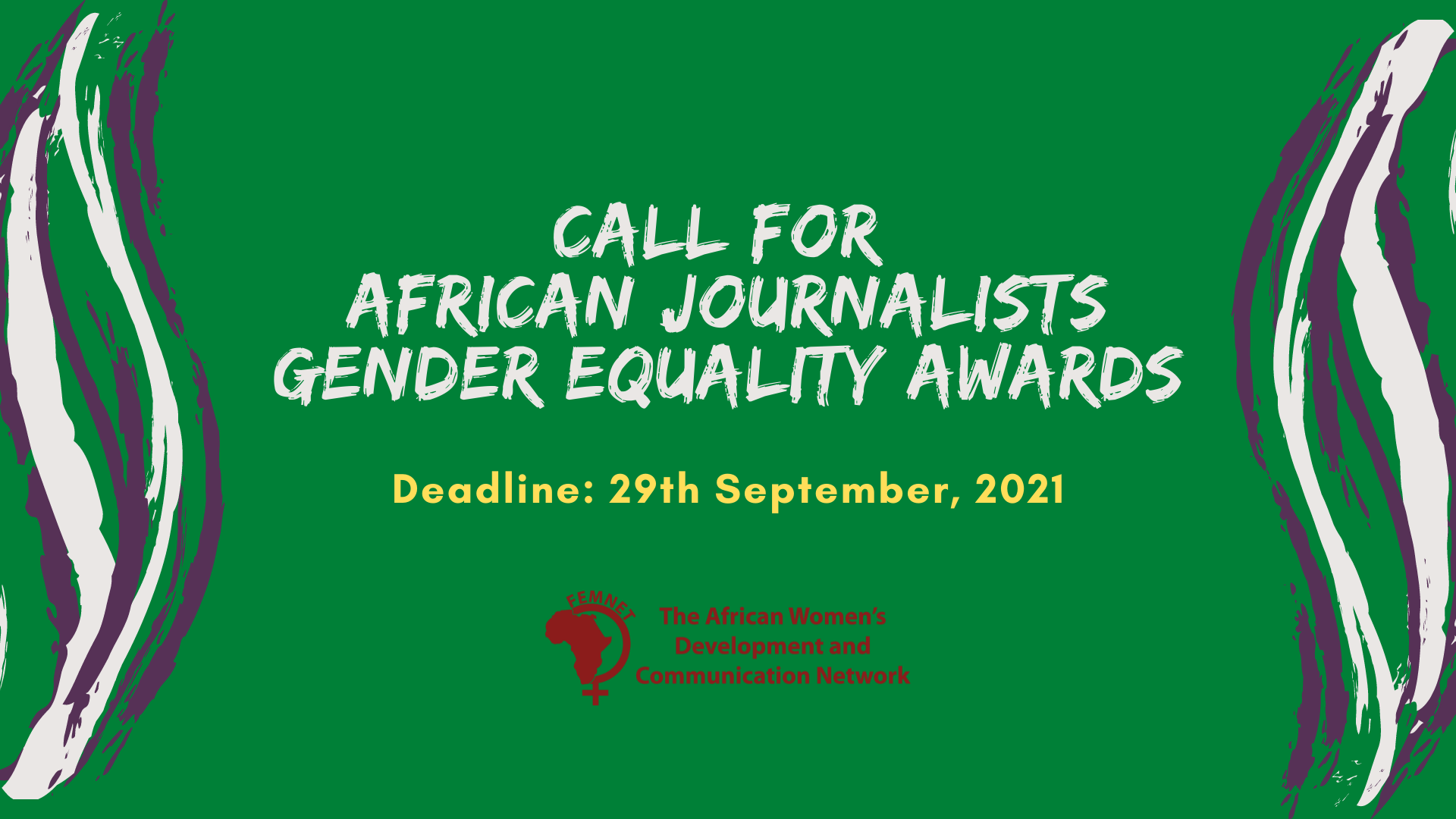 2021 African Journalists Gender Equality Awards
