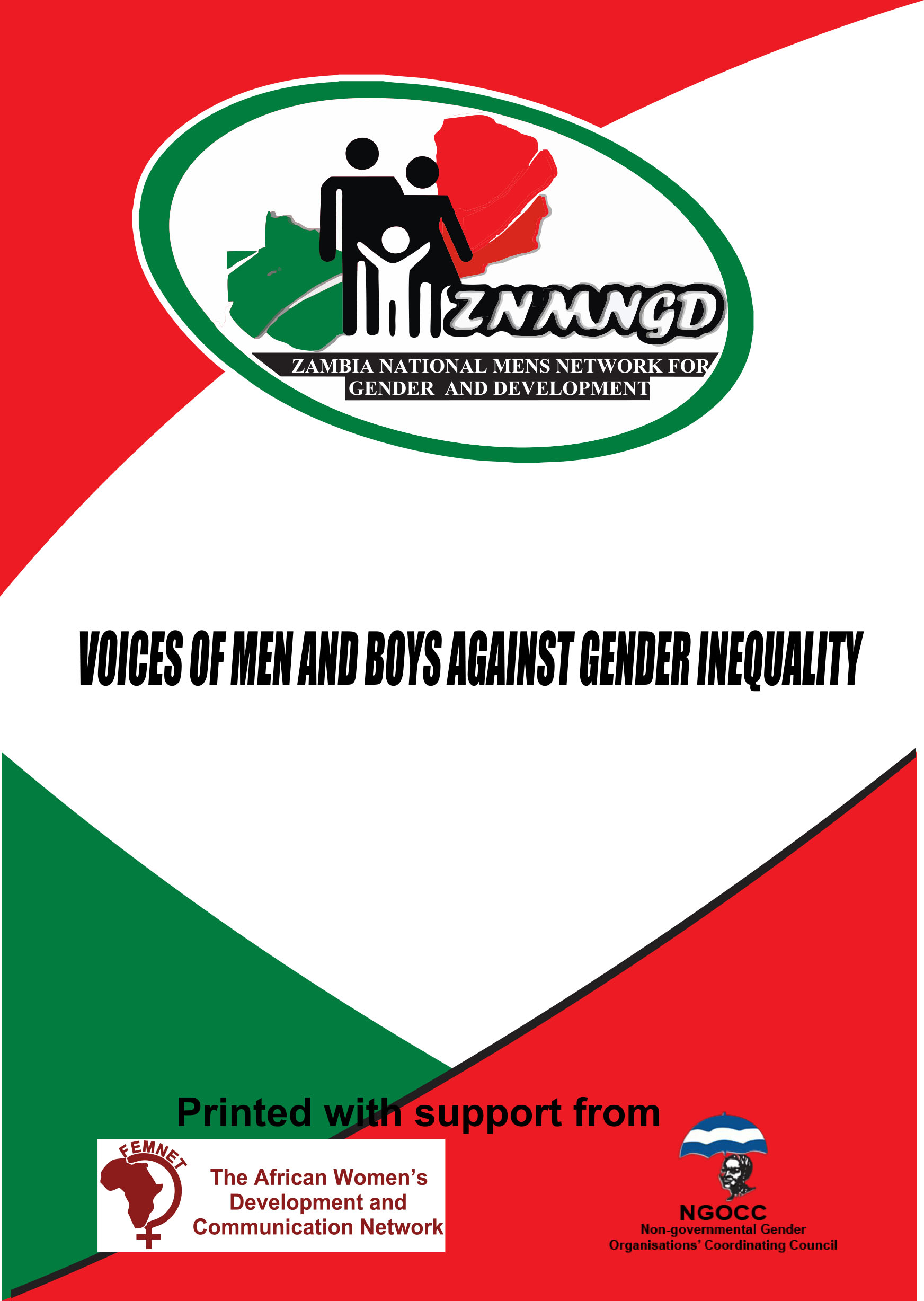 Voices of Men and Boys against Gender Inequality